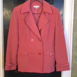 Amanda Smith petite pink jacket size 12P